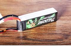 格氏2600mAh 25C 11.1V锂电池