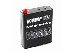 奥姆威 RX005 5.8Ghz 40频道 图传接收