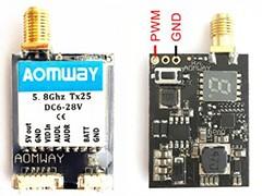 奥姆威5.8Ghz 25mW图传发射